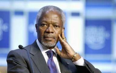 Kofi Annan un exécutant du « Nouvel Ordre Mondial. »