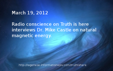 Dr.Mike Castle on Radio Conscience