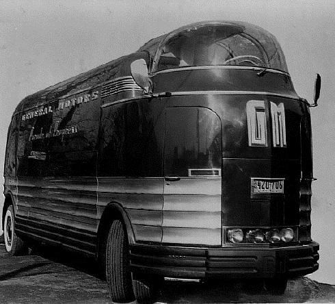 Futuristic General Motors Truck for Parade of Progress