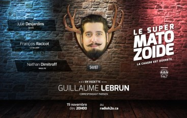 Le Super Matozoïde – S4#87 – Gleb sur les attentats de Paris – 19 novembre 2015