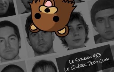 Le Stream 483 – Le Québec Pedo Club