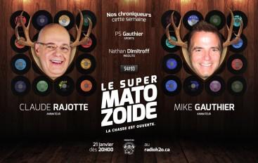 Le Super Matozoïde – S4#93 – La musique en deuil! – 21 janvier 2016