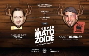 Le Super Matozoïde – S4#94 – Ces deux gars-là! – 28 janvier 2016