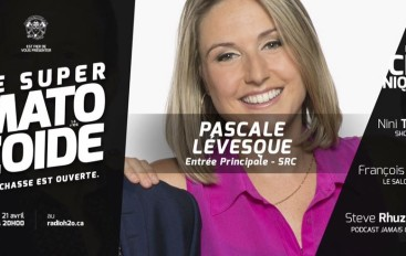 Le Super Matozoïde – S4#106 – L'authentique Pascale Lévesque! – 21 avril 2016