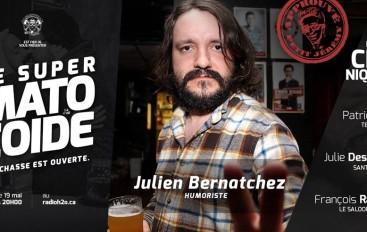 Le Super Matozoïde – S4#110 – L'inimitable Julien Bernatchez – 19 mai 2016