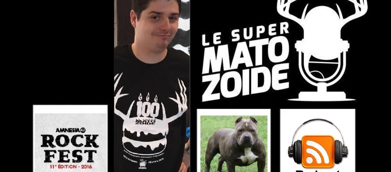 """Le Super Matozoïde – Édition """"F*ck Toute"""" #1 avec Franco Huard – 30 juin 2016"""