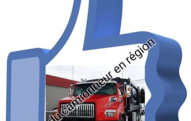 Parlons balado Podcast L'univers du camionneur en région