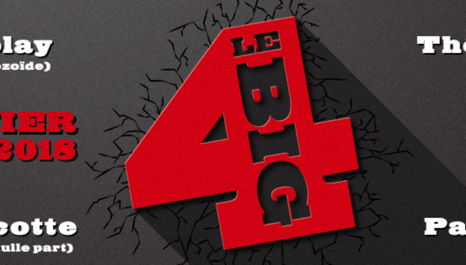 Le Big 4: Un super podcast Québécois pour commencer 2018 !