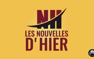 #LNDH – Les Nouvelles d'hier – 15 novembre 2018