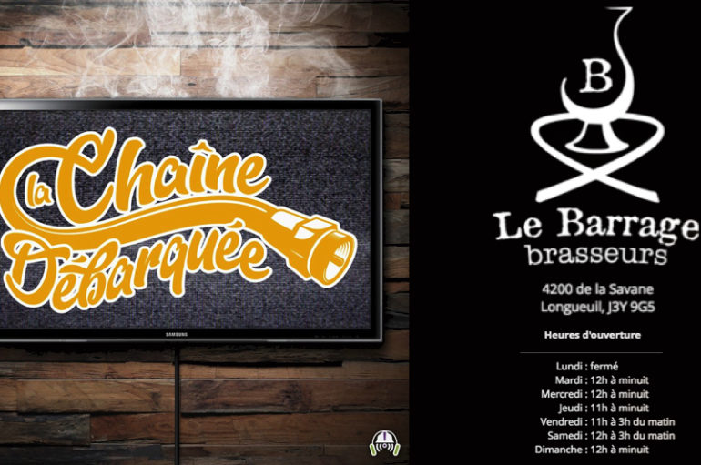LCD – S01 – EP25: Devant le public Longueuillois, chez Le Barrage – Brasseurs