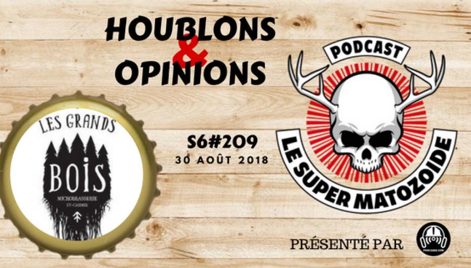 Le Super Matozoïde – S6#209 – H&O au Grands Bois – 30 août 2018