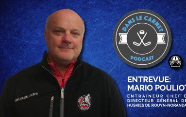 Dans Le Carnet – Les Entrevues: Mario Pouliot casse la glace !