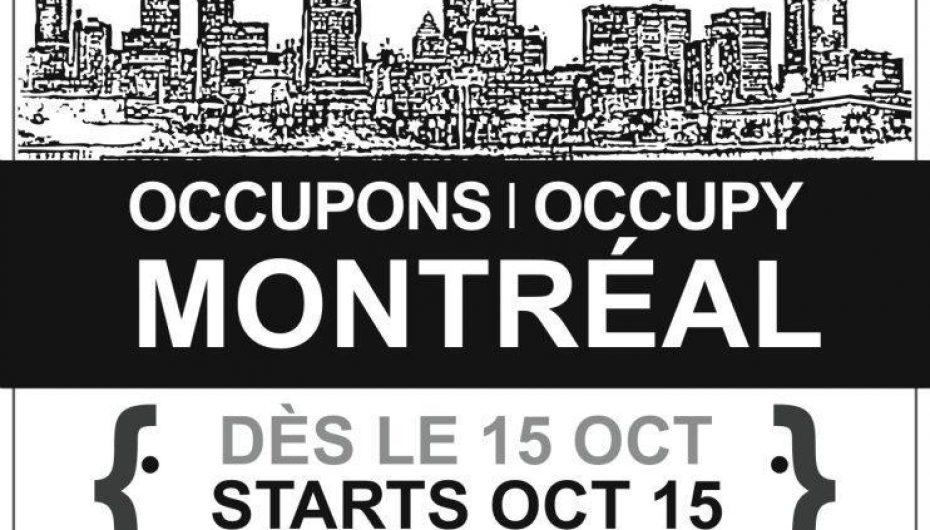Occupons Montréal: Ce n'est qu'un début!