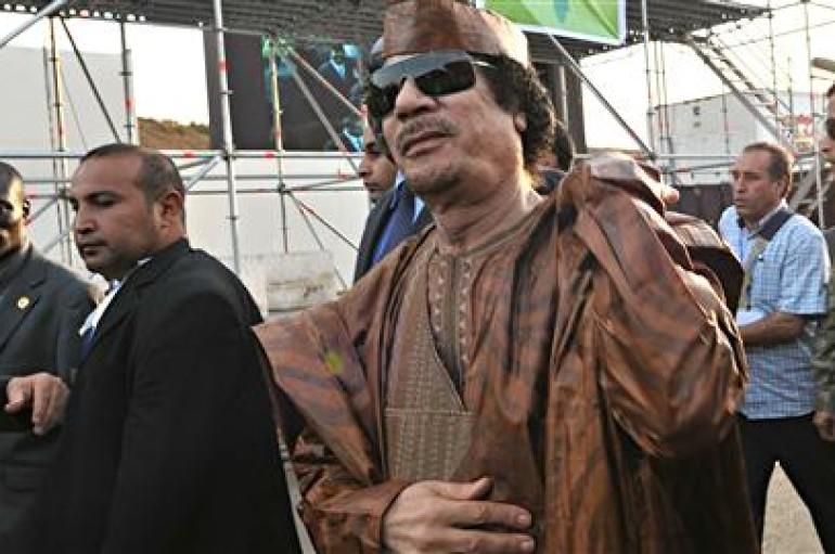 Mouammar Kadhafi et le projet libyen de redistribution de la richesse