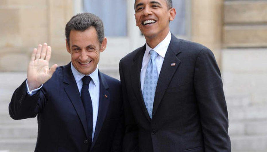 Sarkozy à Obama : «On va gagner, toi et moi, ensemble» Bling Bling