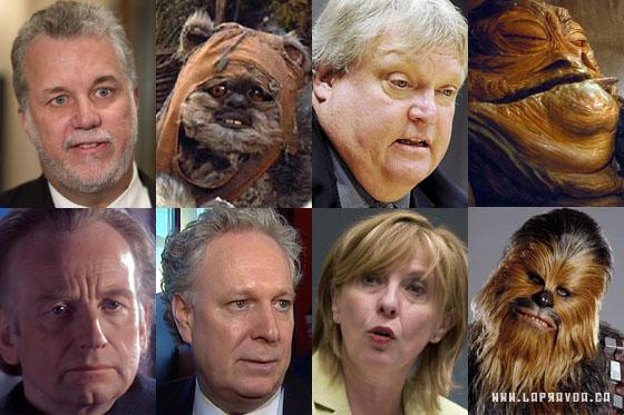 STAR VOTES : Notre politique Québécoise, de la pure science-fiction!