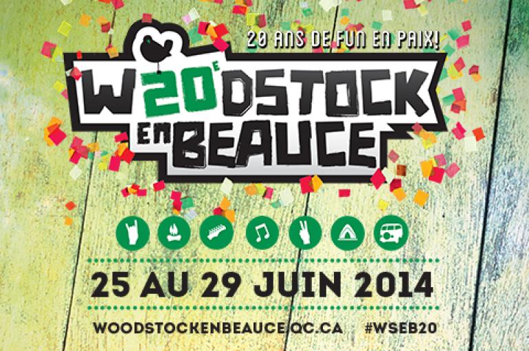 RADIOH2O SUR LA ROUTE : PRÉSENT AU WOODSTOCK EN BEAUCE!