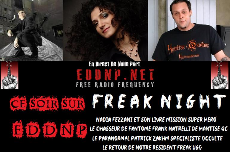 CE VENDREDI 20H : FREAK NIGHT! Spécial Halloween