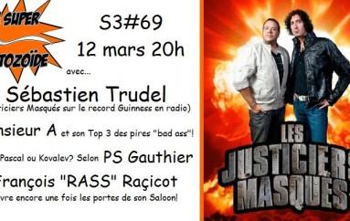"""Le Super Matozoïde – S3#69 – Les """"recordmens"""" masqués! – 12 mars 2015"""
