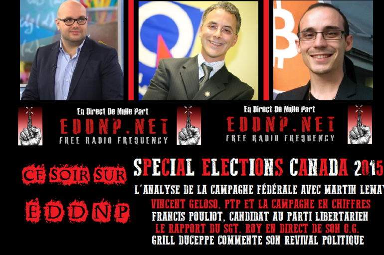 CE SOIR: SPECIAL ELECTIONS 2015!