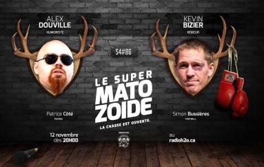 """Le Super Matozoïde – S4#86 – Une émission """"punchée"""" – 12 novembre 2015"""
