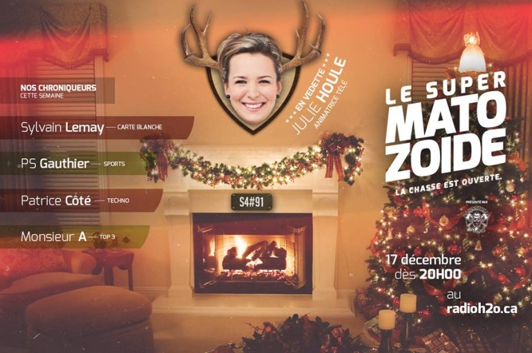Le Super Matozoïde – S4#91 – Spécial des fêtes 2015 – 17 décembre 2015