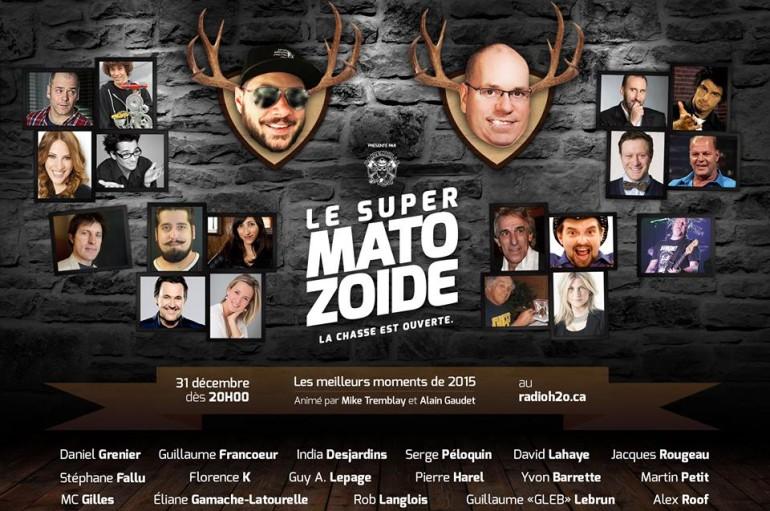 Le Super Matozoïde – S4#92 – Best of 2015 de nos invités