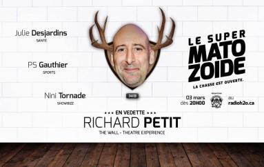 Le Super Matozoïde – S4#99 – Le mur de Richard Petit – 3 mars 2016