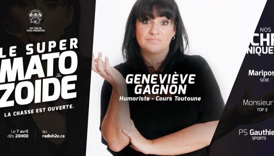 Le Super Matozoïde – S4#104 – Geneviève Gagnon fait bouger votre c…. cardio! – 7 avril 2016