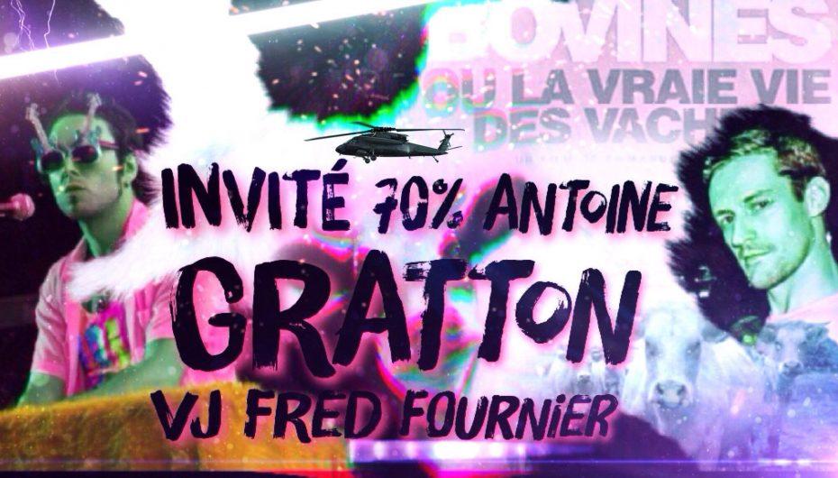 70% – Épisode 87 – Antoine Gratton