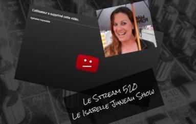 Le Stream 520 – Le Isabelle Juneau Show