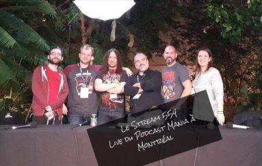Le Stream 554 – Live du Podcast Mania!!