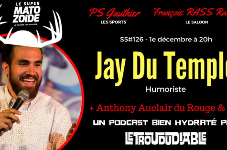 Le Super Matozoïde – S5#126 – Jay et la Coupe Vanier – 1e décembre 2016