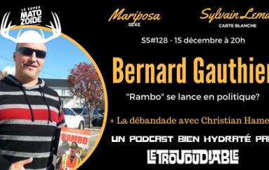 Le Super Matozoïde – S5#128 – Rambo le politicien! – 15 décembre 2016