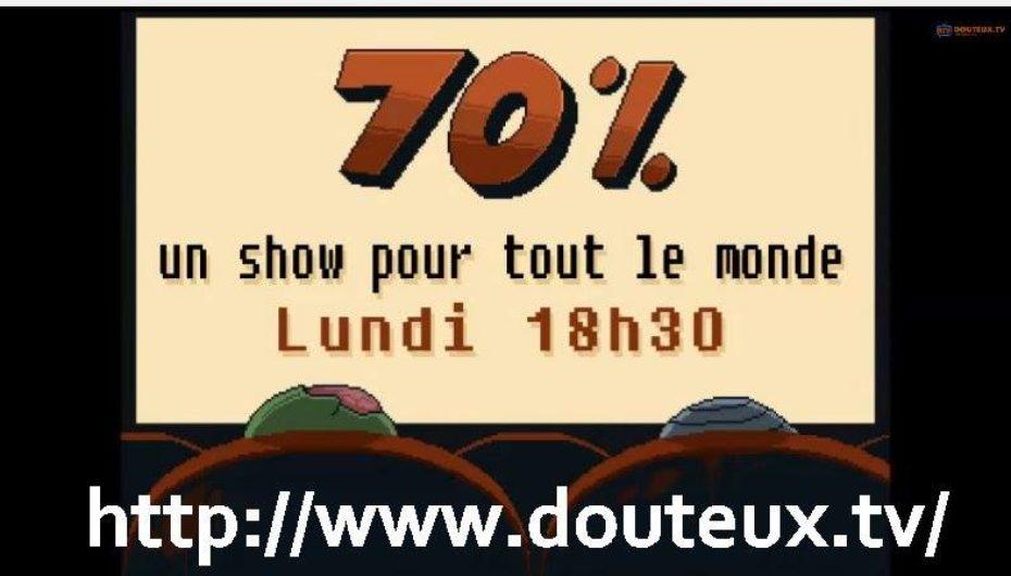 70% au Festival de Musique Émergente de Rouyn-Noranda 30 aout 2018