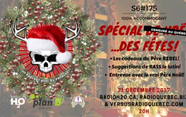 Le Super Matozoïde – S6#175 – Spécial de Noël…des fêtes! – 21 décembre 2017