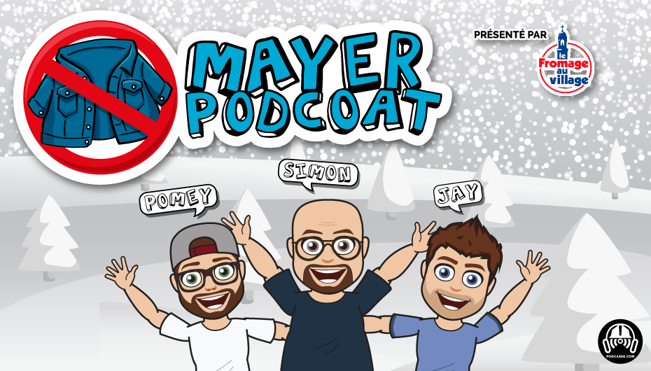Mayer Podcoat – EP68: Apple, Taïwan, Père-Fils, Amazon et Radio H2O