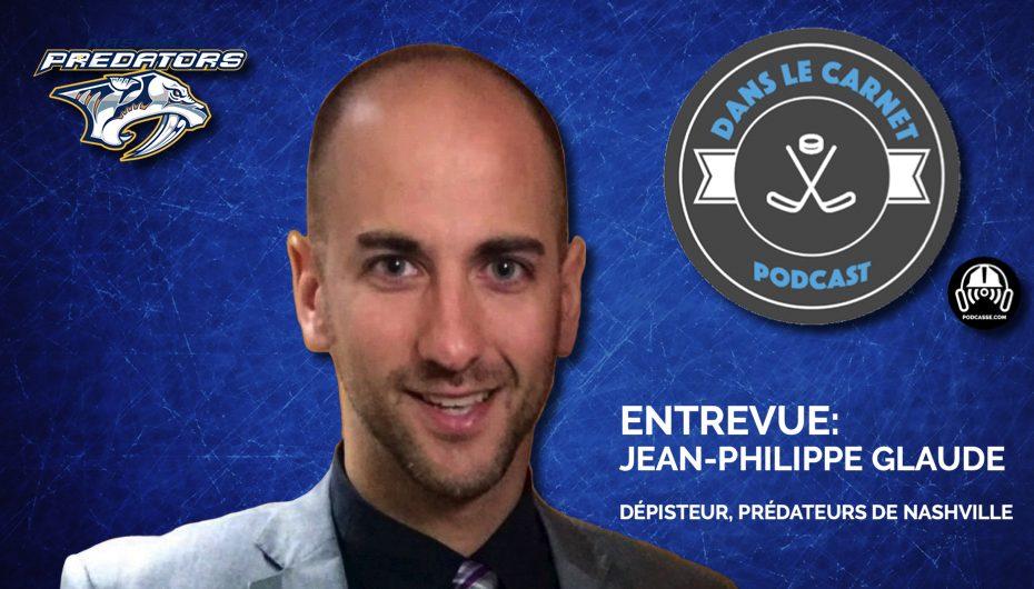 Dans Le Carnet – Les Entrevues: Jean-Philippe Glaude