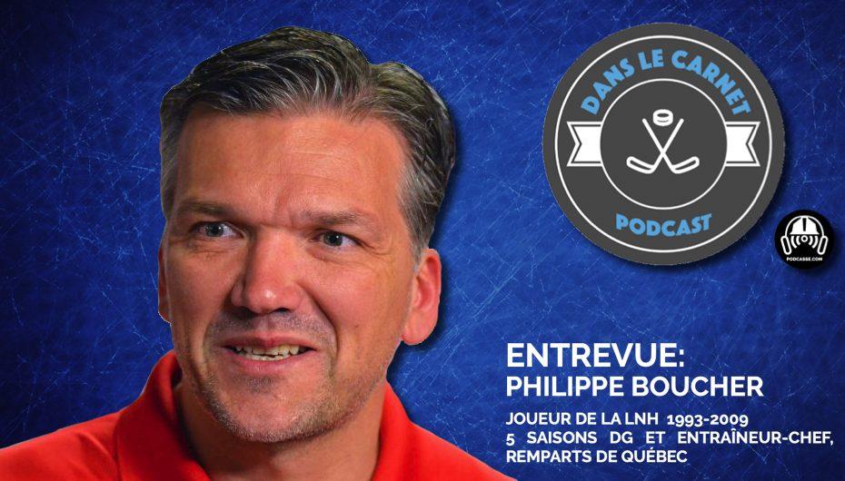 Dans Le Carnet – Les Entrevues: Philippe Boucher