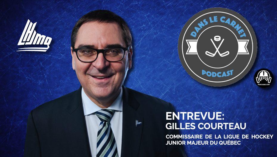 Dans Le Carnet – Les Entrevues: Gilles Courteau