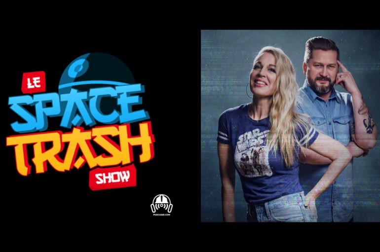 Le Space Trash Show – EP03: Shawicon et Tattoos Star Wars