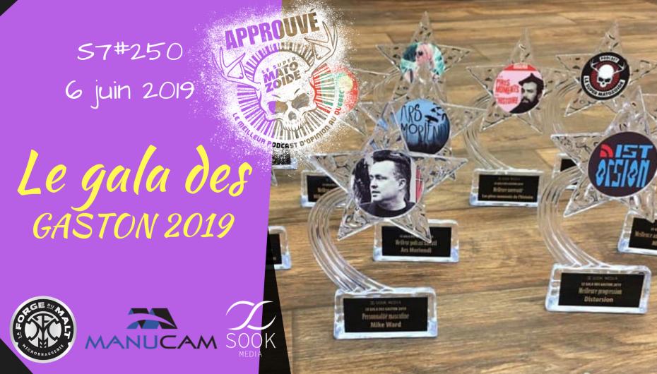 Le Super Matozoïde – S7#250 – Le gala des Gaston 2019 – 6 juin 2019