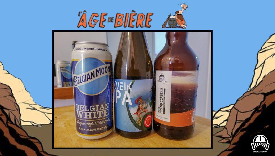 L'Âge de Bière – EP19: Belgian Moon, Kveik IPA & Pic du Grand Corbeau