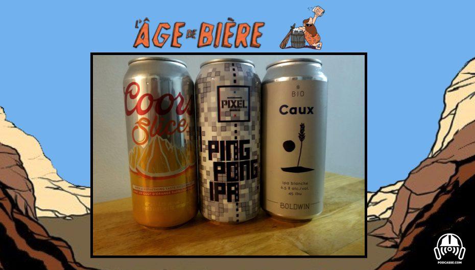 L'Âge de Bière – EP20: Coors Slice, Caux & Ping Pong IPA