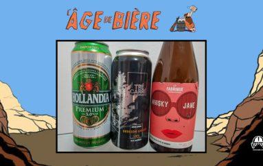 L'Âge de Bière – EP26: Hollandia, Session Amber Ale de Tré Carré & Whisky Jane