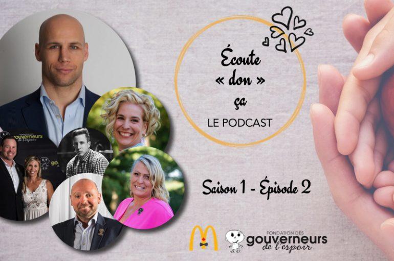 """Écoute """"don"""" ça – S01 – EP02: Steve Bégin, Les Abeille du Suroît et Entreprises SD Descôteaux"""
