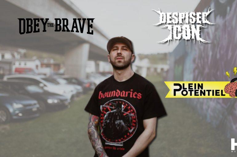 Plein Potentiel – S01 – EP20: Alex Erian de Obey the Brave & Despised Icon