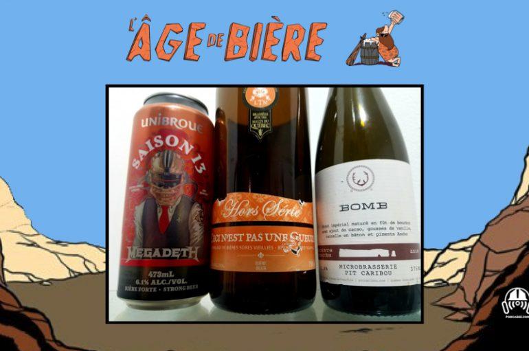 L'Âge de Bière – EP32:  Saison 13, Ceci n'est pas une Gueuze & Bomb