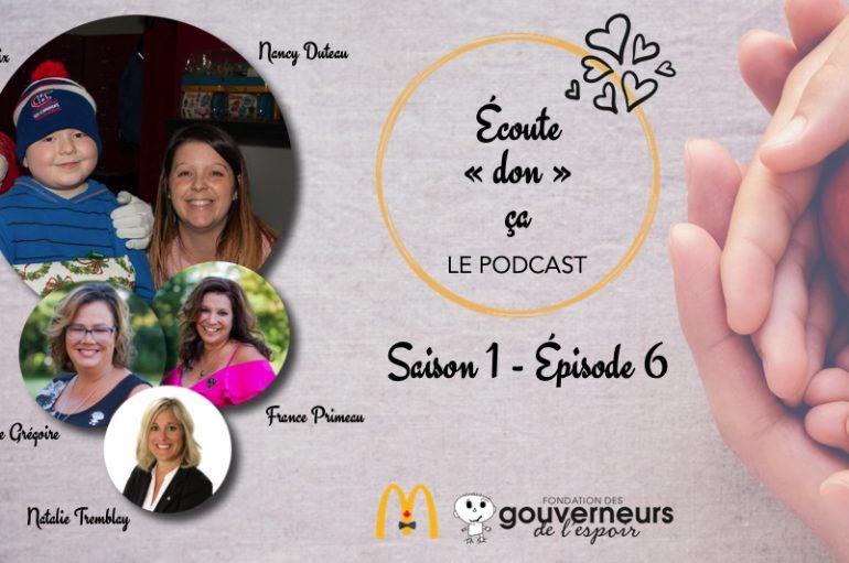 Écoute «don» ça – S01 – EP06: Nancy Duteau et Félix