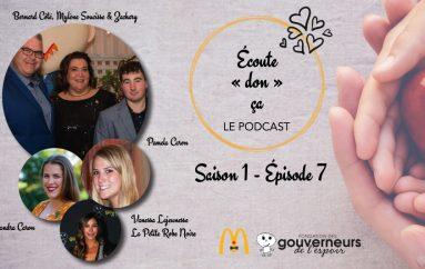 Écoute «don» ça – S01 – EP07: Zachary et sa famille, les soeurs Caron et La Petite Robe Noire